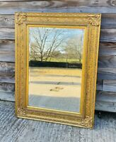 LOVELY 20th CENTURY GILTWOOD OVERMANTLE MIRROR, C1970