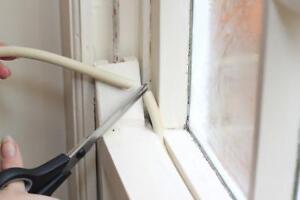 Draughtex Gapseal Window Sealant 8mm 10m roll