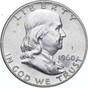 1960 Franklin Half Dollar - TC *594
