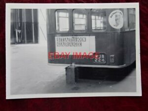 PHOTO  REAR END OF THAMES VALLEY BUS NO 6007 WJB 224