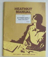 HEATHKIT Manual for AC Power Supply Model HWA-2036-3