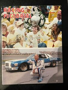 Racing Pictorial Magazine 1980 Summer Johnny Rutherford Cale Yarborough Cover