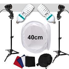 Professional Studio SET: Light tent + 2x 85W / 400W Lamp + 2x Studio stand