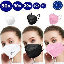 FFP2 Atemschutzmaske Maske Mundschutz 5 lagig CE zertifiziert Nase Mund Schutz