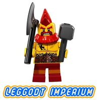LEGO Minifigure Series 17 - Battle Dwarf - minifig col17-10 FREE POST