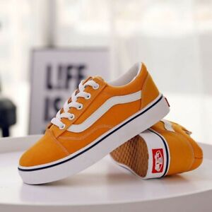 New vans Old Skool Men's and Women's Casual Shoes Trendy Student Canvas Shoes