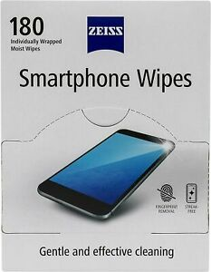 ZEISS Smartphone wipes, pack of 180