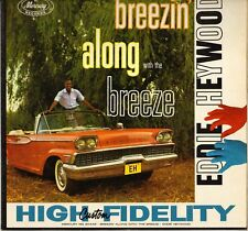 """EDDIE HEYWOOD """"BREEZIN' ALONG WITH THE BREEZE"""" PIANO 50'S LP CAR COVER !"""