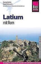 Reise Know-How Latium mit Rom von Frank Schwarz und Georg Henke (2016, Taschenbuch)