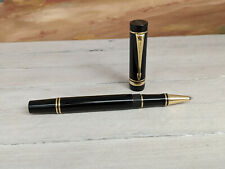 PARKER Duofold International Size Black Rollerball Pen, EXCELLENT!