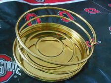 """PARTYLITE SOLID BRASS SPIRAL 6"""" CANDLE HOLDER P0207 Retired"""