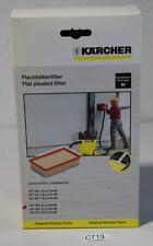 KÄRCHER Flachfaltenfilter 6.904-367 neu in OVP (C713-R35)