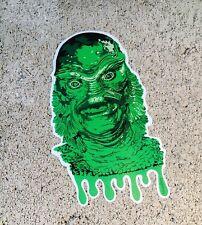 "Creature From The Black Lagoon Cut Vinyl 4"" Sticker Slap Decal Indoor Outdoor"