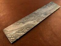"7"" Handmade Damascus Steel Billet-Bar-Razor-Knife Making Supplies-Annealed"
