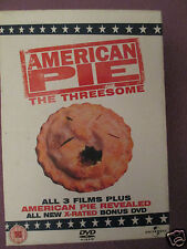 AMERICAN PIE-THE THREESOME & AMERICAN PIE REVEALED DVD BOXSET 4 DISCS   **SALE**