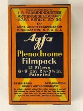 F01_081a Film 1 Box Agfa Plenachrome Filmpack exp. 1933