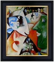 Framed Quality Hand Painted Oil Painting Untitled Abstract 19, 20x24in
