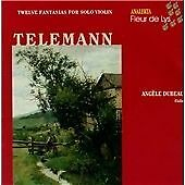 Telemann: 12 Fantaisies for Violin without Continuo, , Very Good