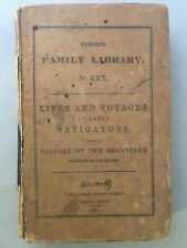 1836 Harper's Family Library Books No XXX - Lives And Voyages Of Early Navigtors