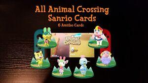 All 6 Sanrio Cards - Animal Crossing Amiibo Cards - ACNH