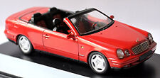 Mercedes Benz CLK a 208 Cabriolet 1998-99 Rouge Red 1 43 Schuco