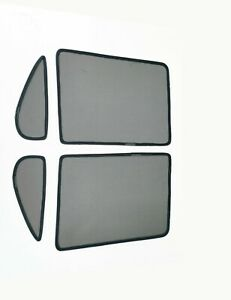 Rear Magnetic Window Sun Shades Mesh for Toyota Hilux 2015-20 Tailored