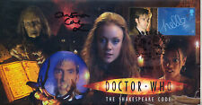 """Doctor Who """"The Shakespeare Code"""" Episode Stamp Cover - Signed by CHRISTINE COLE"""