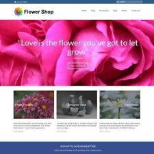 FLOWERS Website Business For Sale - $296.00 A SALE. INSTANT TRAFFIC SYSTEM