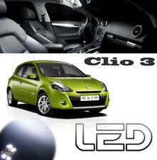 CLIO 3  P2 pack 11 Ampoules LED Blanc Habitacle Plafonnier Coffre Boite a gants