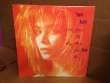 PAULA ABDUL IT'S JUST THE WAY THAT YOU LOVE ME PIC SLEEVE  VINYL 12''