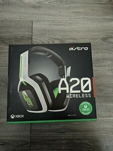 Astro A20 Wireless Gaming Headset - Green/White Xbox, PC, Mac