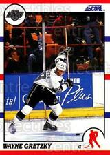 1990-91 Score Hottest and Rising Stars #1 Wayne Gretzky