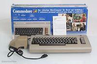 commodore C64 Heim Personal Computer Klassik Vintage 1982 OVP