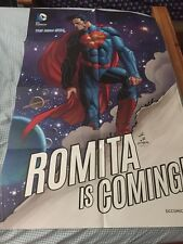 DC New 52 Romita Is Coming Promo Poster (2014) 34x22