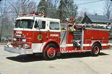 Fire Apparatus Slide, Engine 2, Avon / MA, 1971 Duplex / Farrar