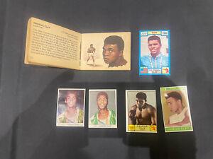 Cassius Clay Muhammad Ali x6 Cards Rookies Panini Valida Bancroft Tiddler Mantle