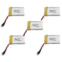Upgraded 5Pcs X 3.7V 650Mah 25C Lipo Akku Für Quadrocopter Syma X5, X5C, Zu S1H1
