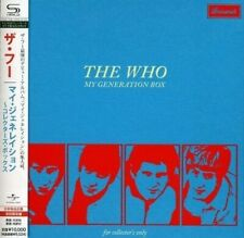 THE WHO~MY GENERATION~RARE SEALED JAPAN MONO/STEREO AUDIOPHILE SHM-CD BOX SET