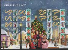 Royal Mail - Christmas 2007 Smilers stamp sheet