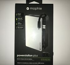 Mophie Powerstation PLUS 8X Micro USB Connector Charger Android 12,000 mAh NEW