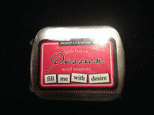 Magnetic Poetry Little Box of PASSION Word Magnets