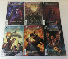 Serenity Firefly Class 03-K64 No Power In The Verse comics #1 2 3 4 5 6~Full Set