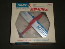 1960'S COMET REDI-FLIGHT JR. READY TO FLY CUB 35 AIRPLANE TOY NO. 6201:69 W/ BOX
