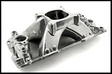 HIGH RISE SBC CHEVY SINGLE PLANE VORTEC INTAKE MANIFOLD PC-2032/ 147.1024