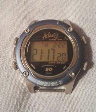 Late 90s Vintage Timex Atlantis 100 Mens Sport Watch w/ Indiglo