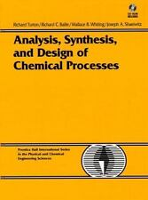 Analysis, Synthesis and Design of Chemical Processes with 3.5 Disk (Prentice Hal