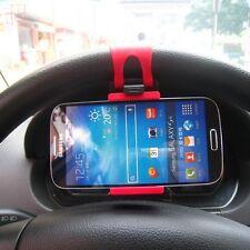 Supporto auto compatto universale da Volante Sterzo per Samsung Galaxy S4 i9500