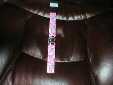Dapper Snappers BELT girls one size pink camo NEW
