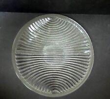R. Lalique LIGNES Crystal Plate / Charger, c. 1935