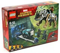 LEGO BLACK PANTHER RHINO FACE-OFF BY THE MINE SET 76099 MARVEL SUPERHEROE - BNIB